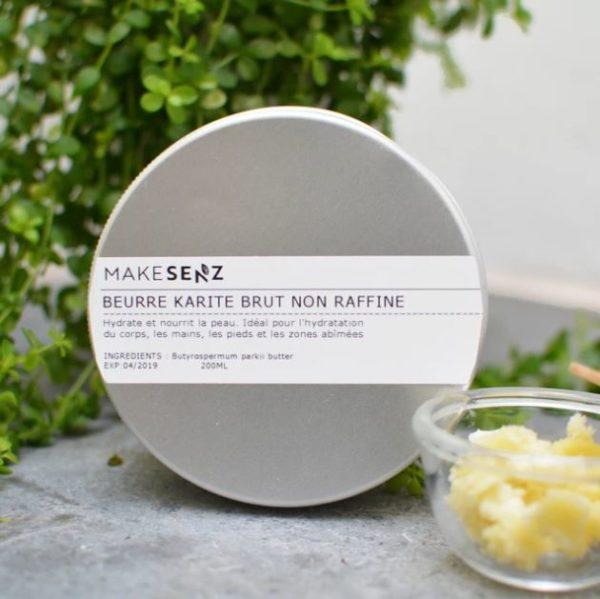 beurre de karité brut bio