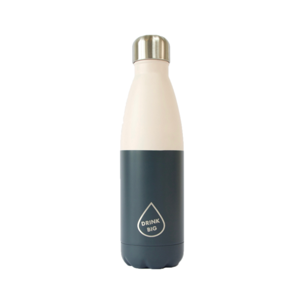 Gourde 500ml blue grey
