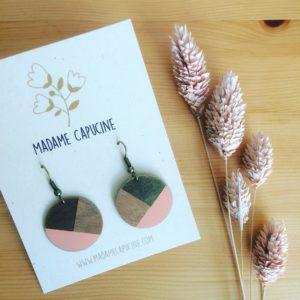 Boucles d'oreilles Madame Capucine - Maison Zéro
