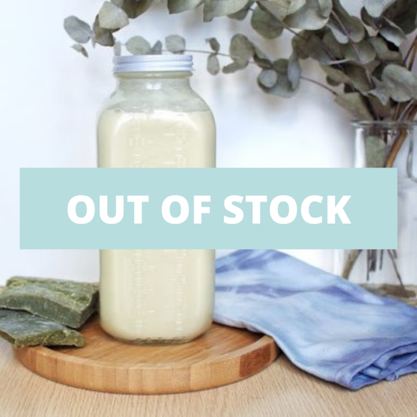 lessive liquide out of stock